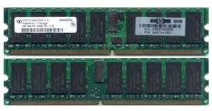 HP - DDRam - 2GB(2x1GB) - Bus 200Mhz - PC 1600
