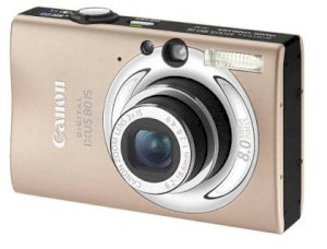 Canon IXUS 80 IS (PowerShot SD1100 IS / IXY DIGITAL 20 IS) - Châu Âu
