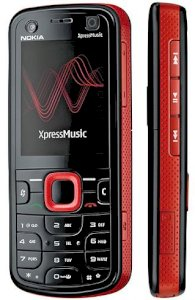 Nokia 5320 XpressMusic Red
