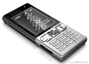 Sony Ericsson T700 Black on Silver