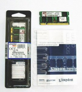 Kingston DDRam2 - 2GB Bus 800MHz