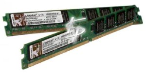 RAM Desktop Kingston - DDR2 - 2GB - bus 800MHz - PC2 6400