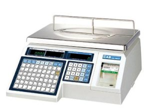 Thermal Label Printing Scale CAS LP-1