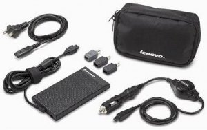 ThinkPad and IdeaPad 90W Slim AC/DC combo adapter -41N8480
