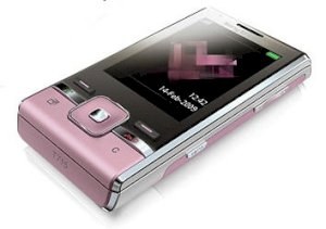 Sony Ericsson T715 Rouge Pink