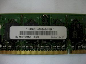 IBM 512MB - DDRAM2 - Bus 533Mhz - PC2-4200 for Notebook