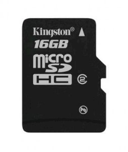 Kingston MicroSDHC 16GB (Class 2)