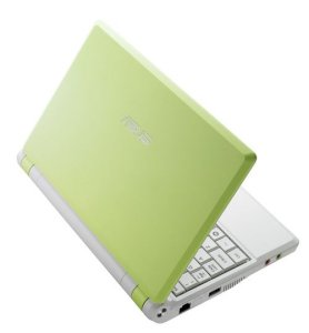 ASUS Eee PC4G-GR006 Netbook Green (Intel Celeron M ULV 353 900MHz, 512MB RAM, 4GB HDD, VGA Intel GMA 900, 7 inch, Linux)