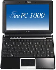 ASUS Eee PC 1000HD Netbook Black (Intel Celeron M 353 900MHz, 2GB RAM, 80GB HDD, VGA Intel GMA 950, 10 inch, Linux)