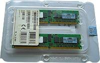 HP 2GB 2Rx8 PC3-10600R-9 Kit Registered DIMMs - 500656-B21