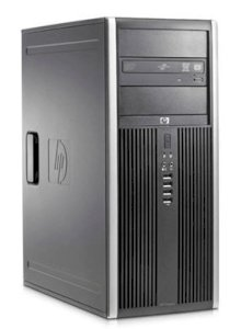 Máy tính Desktop HP Compaq 8000 Elite Convertible Minitower PC (AZ889AW) (Intel Core 2 Duo E8400 3.0GHz, RAM 2GB, HDD 500GB, VGA Intel GMA 4500, Windows 7 Professional, không kèm theo màn hình)