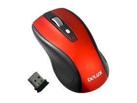 Delux DL-M486GL+ GM01UF 2.4 Wireless Mouse