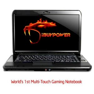 iBUYPOWER Battalion Touch CZ-10 (Intel Core 2 Duo T9900 3.06GHz, 4GB RAM, 250GB HDD, VGA ATI Radeon HD 4650, 15.6 inch, Windows 7 Home Premium)