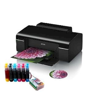 Máy in Epson T60 gắn hệ thống mực in liên tục Sublimation