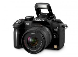 Panasonic Lumix DMC-G2 (LUMIX G VARIO 14-42 mm F3.5-5.6 ASPH MEGA OIS) Lens Kit