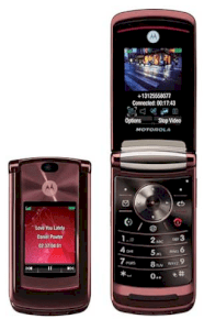 Motorola RAZR2 V9 Red