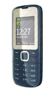 Nokia C2-00 Dark Blue