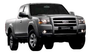 Ford Ranger 4X2  XLT 2.5 AT 2010