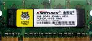 Kingtiger DDR2 2gb Bus 800 for Laptop