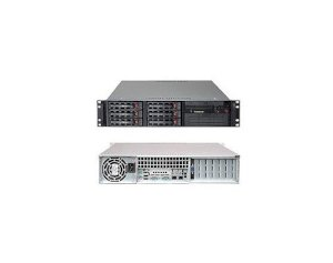 SuperMicro 2U Server Rack SC822T-400LPB (Intel Xeon Quad Core X3450 2.66GHz, RAM 2GB, HDD 250GB)