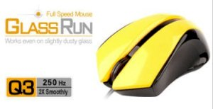 A4tech GlassRun Full Speed Mouse Q3-310