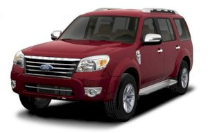 Ford Everest XLT(4x4) 2.5 MT 2010