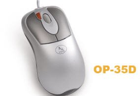 A4tech 2X Click Optical Mouse OP-35D