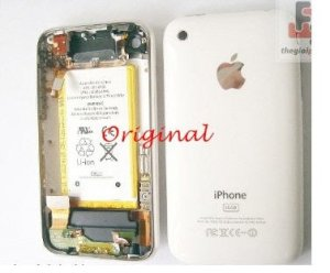 Vỏ iPhone 3GS Original White