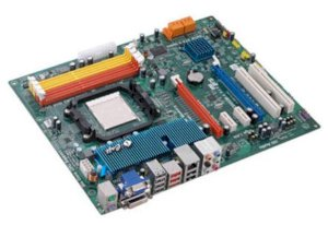 Bo mạch chủ  ECS IC890GXM-A. S-V-L.PCI Ex 16x. AM3. VGA SIDE PORT 128MB