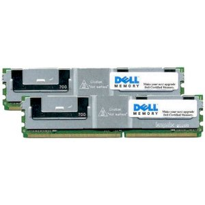 2 GB (2 x 1 GB) Dell Certified Replacement Memory Module Kit (A2034685)