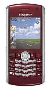 BlackBerry Pearl 8110 Red