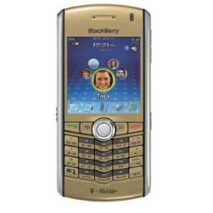 BlackBerry Pearl 8100 Gold