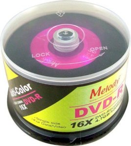 DVD-R Multi-Color Melody 16X