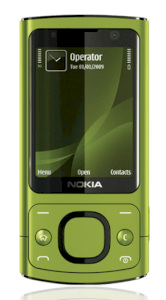 Nokia 6700 Slide Lime