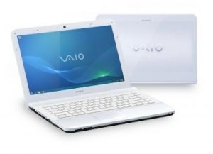 Sony Vaio VPC-EA36FM/W (Intel Core i3-370M 2.40GHz, 4GB RAM, 500GB HDD, VGA Intel HD Graphics, 14 inch, Windows 7 Home Premium 64 bit)