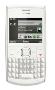 Nokia X2 Chat (X2-01) White