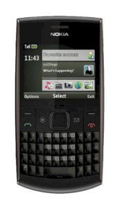 Nokia X2 Chat (X2-01) Black