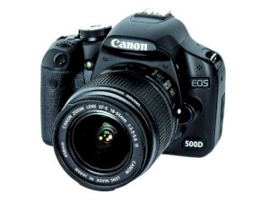 Canon EOS 500D (Rebel T1i / Kiss X3) (EF-S 18-55mm IS) Lens Kit