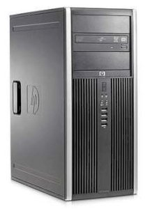 Máy tính Desktop HP Compaq 8000 Elite Convertible Minitower PC (LA015UT) (Intel Core 2 Duo E8400 3.0GHz, RAM 2GB, HDD 500GB, VGA GMA 4500, Windows® 7 Professionall, không kèm theo màn hình)