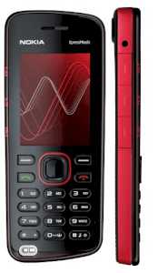 Nokia 5220 XpressMusic Red