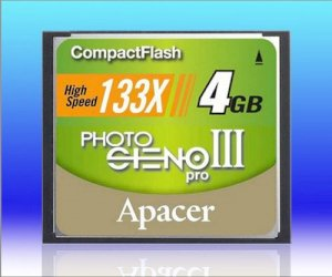 Apacer 4GB Compact Flash 133x (CF)