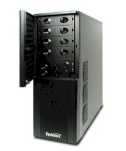 Systemax ELS 5 Tower Server (Systemax ELS 5 Tower Server - Intel Xeon X3440 2.53GHz, 4GB DDR3 ECC, 3 x 500GB HDD in Raid 5, 650 Watt) 80+ Power)
