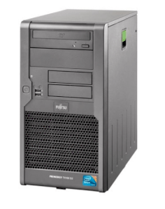 Fujitsu PRIMERGY TX100 S2 T100S2SX120IN Tower Server (Intel Core i3-540 3.06GHz, 4GB DDR3, 2 x 250GB HDD, RAID 0/1, 250 Watts)