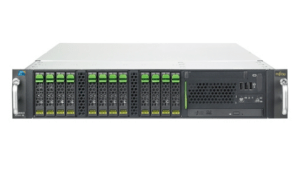 "Fujitsu PRIMERGY RX300 S6 R3006SC150US 2U Rackmount Server (2x Intel Xeon E5640 2.66GHz, 12GB DDR3 ECC, DVDRW, 8x 2.5"" Hot-Swap Bays, No OS)"