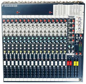 Soundcraft Spirit FX16ii