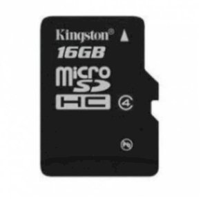 Kingston MicroSD 16Gb class 4