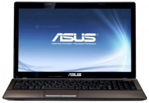 Asus K53SJ-SX146 (Intel Core i5-2410M 2.3GHz, 4GB RAM, 500GB HDD, VGA NVIDIA GeForce GT 520M, 15.6 inch, PC DOS)