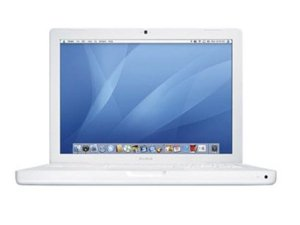 Apple MacBook (MB061ZP/A) (Intel Core 2 Duo T7300 2GHz, 1GB RAM, 80GB HDD, VGA Intel GMA 950, 13.3 inch, Mac OS X v10.4 Tiger)