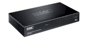 SMCGS801 EZ Switch™ 10/100/1000  8-port 10/100/1000 Gigabit Unmanaged switch