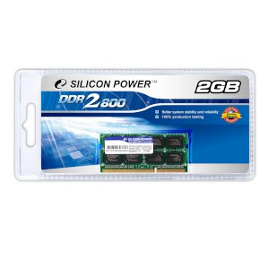Silicon Power DDR2 2GB Bus 800Mhz PC2-6400 for Notebook